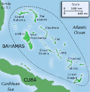 Geography atlantic ocean since the bahamas is a whole bunch on islands in south america the largest body of water around the bahamas is the atlantic ocean publicscrutiny Images
